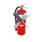Работы с огнетушителями